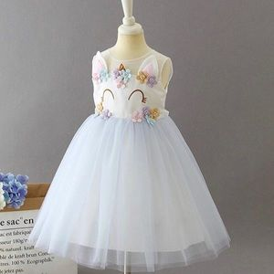 Other - New! Unicorn Tutu Party Dress - Kids 4/5